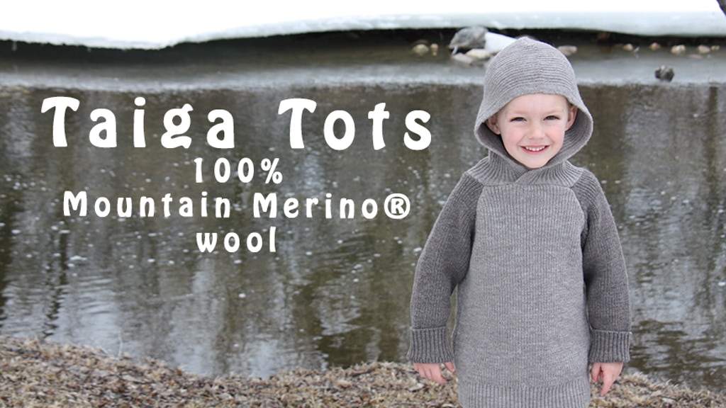 Taiga Tots - A Fun and durable children's wool clothing! project video thumbnail