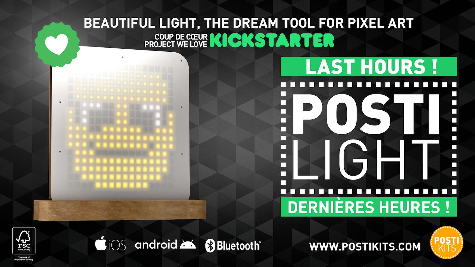 Monter Une Lampe De Chevet posti lightposti kits — kickstarter