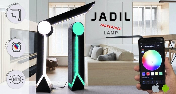 Multifunctional lamp for everyone!