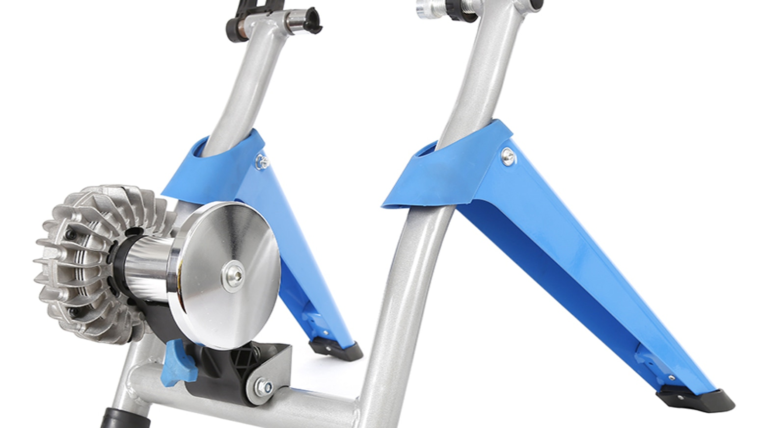 A good value, high quality magnetic + fluid resistance turbo trainer to keep the isolated, distanced, and quarantined fit and healthy.