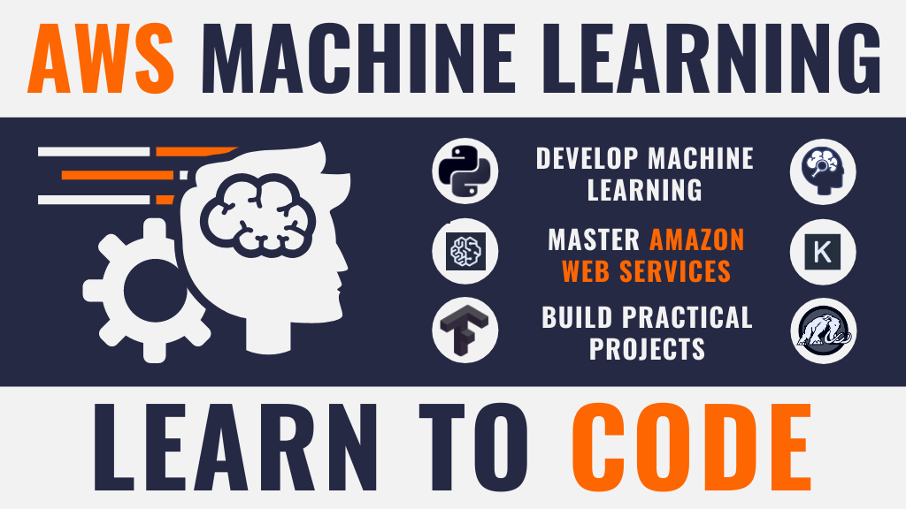 The Complete AWS Machine Learning Course. Learn to Code project video thumbnail