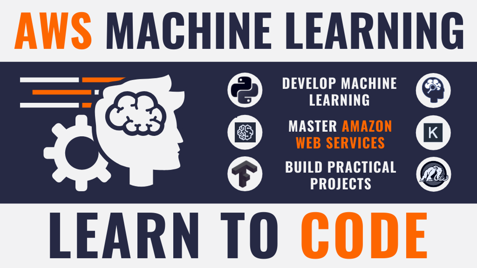 Stuck at home? Learn hireable skills in this complete guide to AWS SageMaker, AI and Certified Machine Learning with Python.
