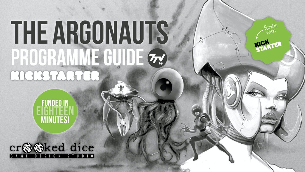 Project image for Argonauts 7TV Programme Guide & Miniatures