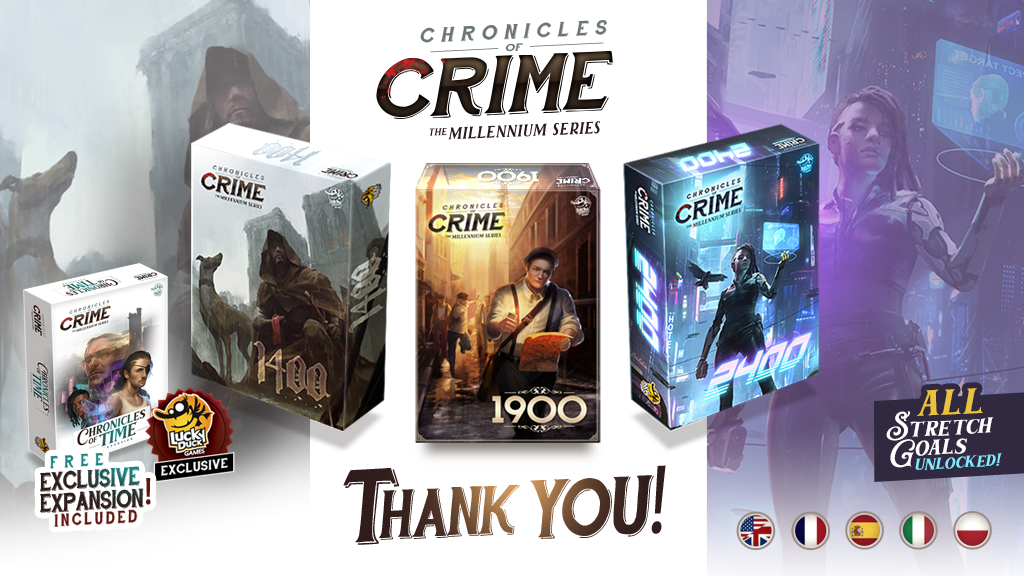 Chronicles of Crime - The Millennium Series project video thumbnail