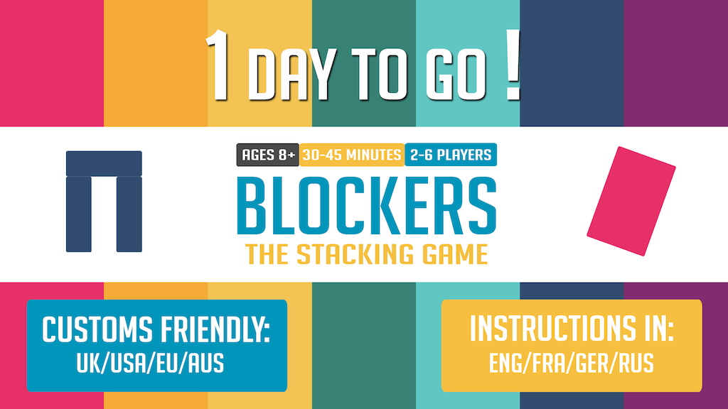 Blockers: The Stacking Game (Relaunch) project video thumbnail