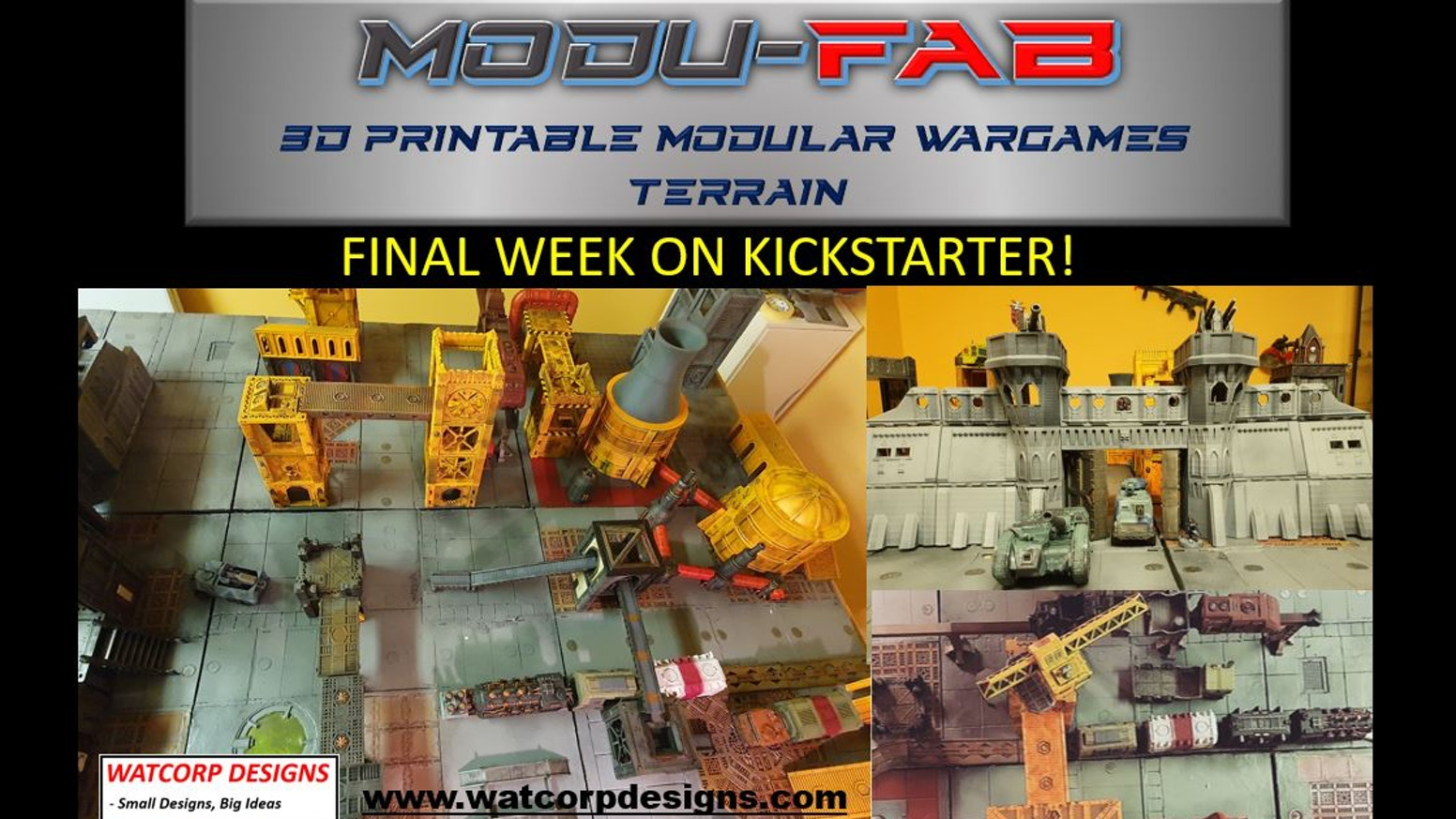 From the creators of Modutruck and Modurail
