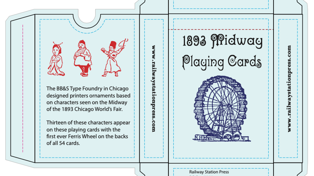 Project image for 1893 Chicago Midway Playing Cards & Companion Book