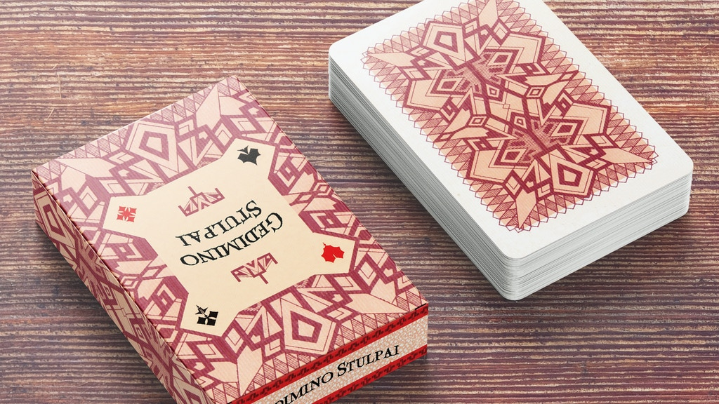 Columns of Gediminas - Historic, Playing Cards from 1930 project video thumbnail