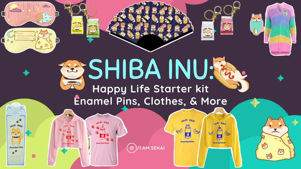 Project image for Shiba Inu Themed: Happy Life Starter Pack!