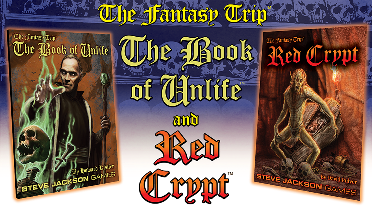New books for The Fantasy Trip! A guide to many of the known kinds of unlife and a new solitaire adventure. Choose one or choose both!