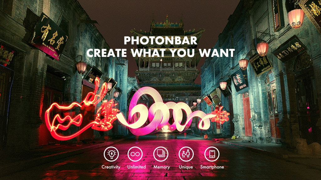 PHOTONBAR: Hologram Light-Painting Stick for Creativity project video thumbnail