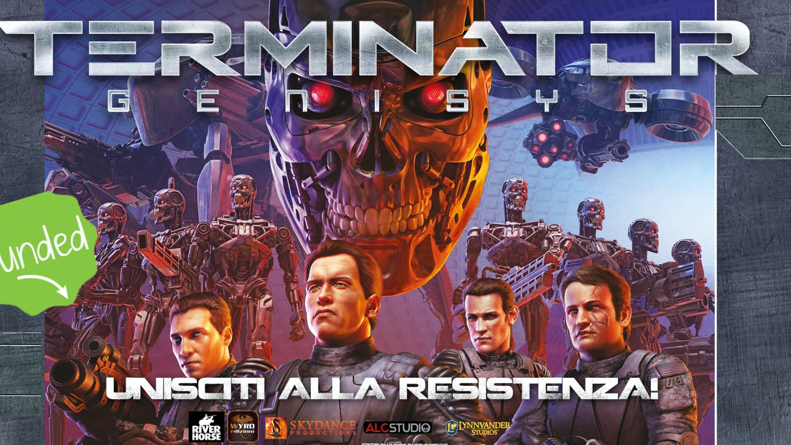RISE OF THE RESISTANCE E FALL OF SKYNET