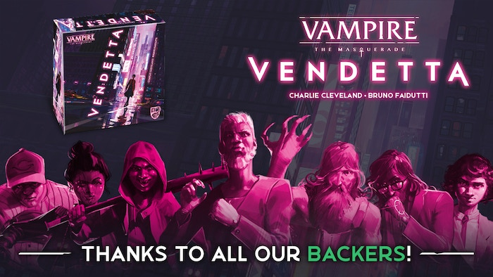 A competitive card game where you fight to conquer the role of Prince of Chicago as one of the vampire Clans of the Camarilla!