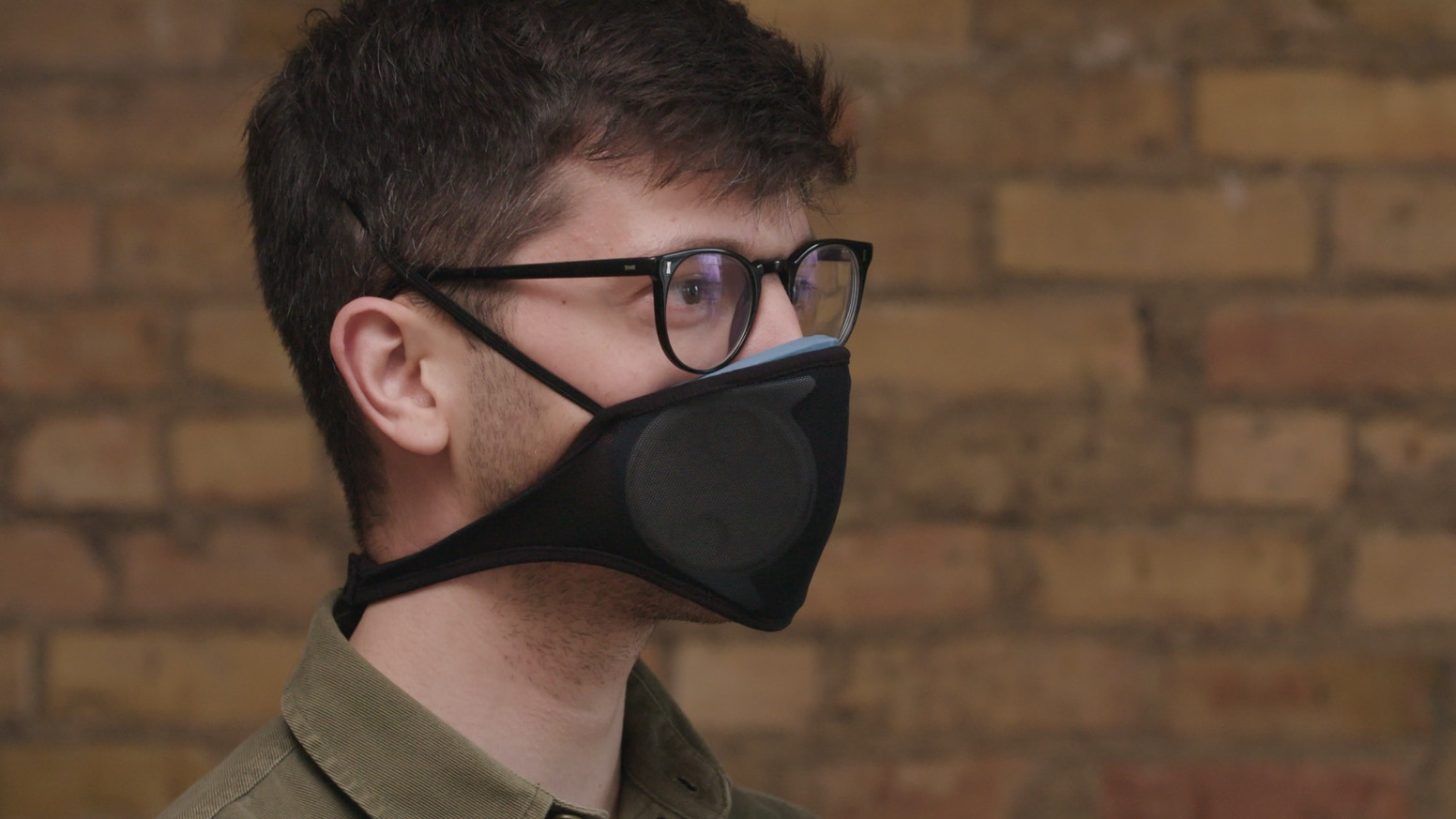 Patent-Pending Facepiece  |  Affordable Filter Tech  |  June Delivery