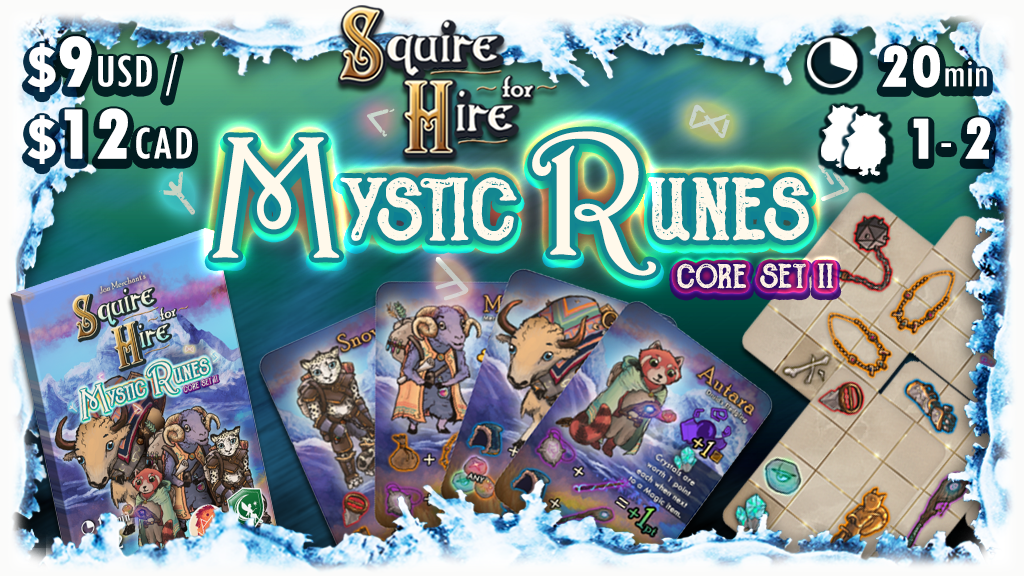 Squire for Hire - Mystic Runes Core Set 2 project video thumbnail
