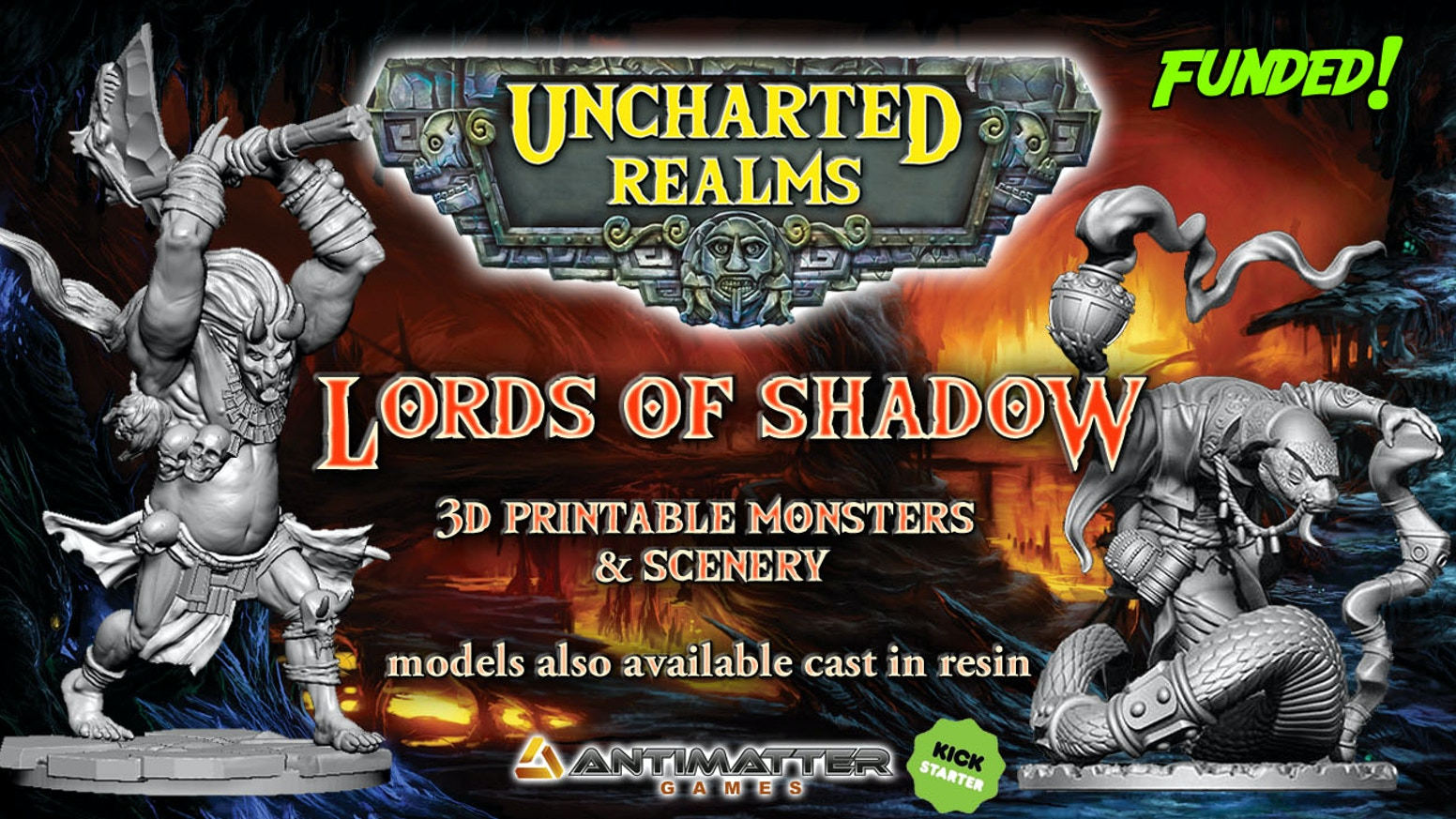 Uncharted Realms Lords Of Shadow By Antimatter Games Kickstarter