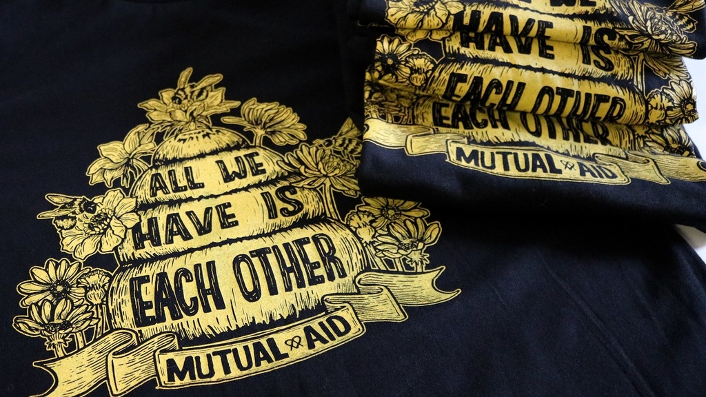 All We Have Is Each Other: Mutual Aid Shirt & Radical Books project video thumbnail