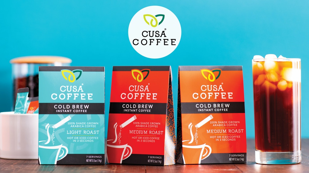 Cusa Coffee - Cold Brew Instant Coffee - Hot or Iced project video thumbnail