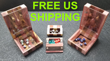 Mini Dice / 6 Inch Dice Towers / Tiny Hardwood Dice Cases thumbnail