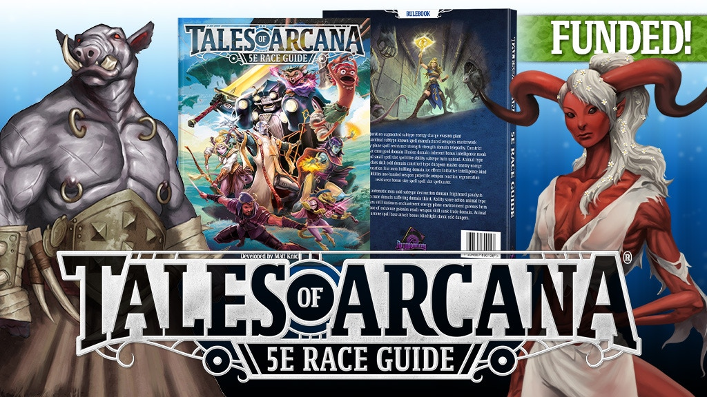 Tales of Arcana 5E (5th Edition) Race Guide project video thumbnail