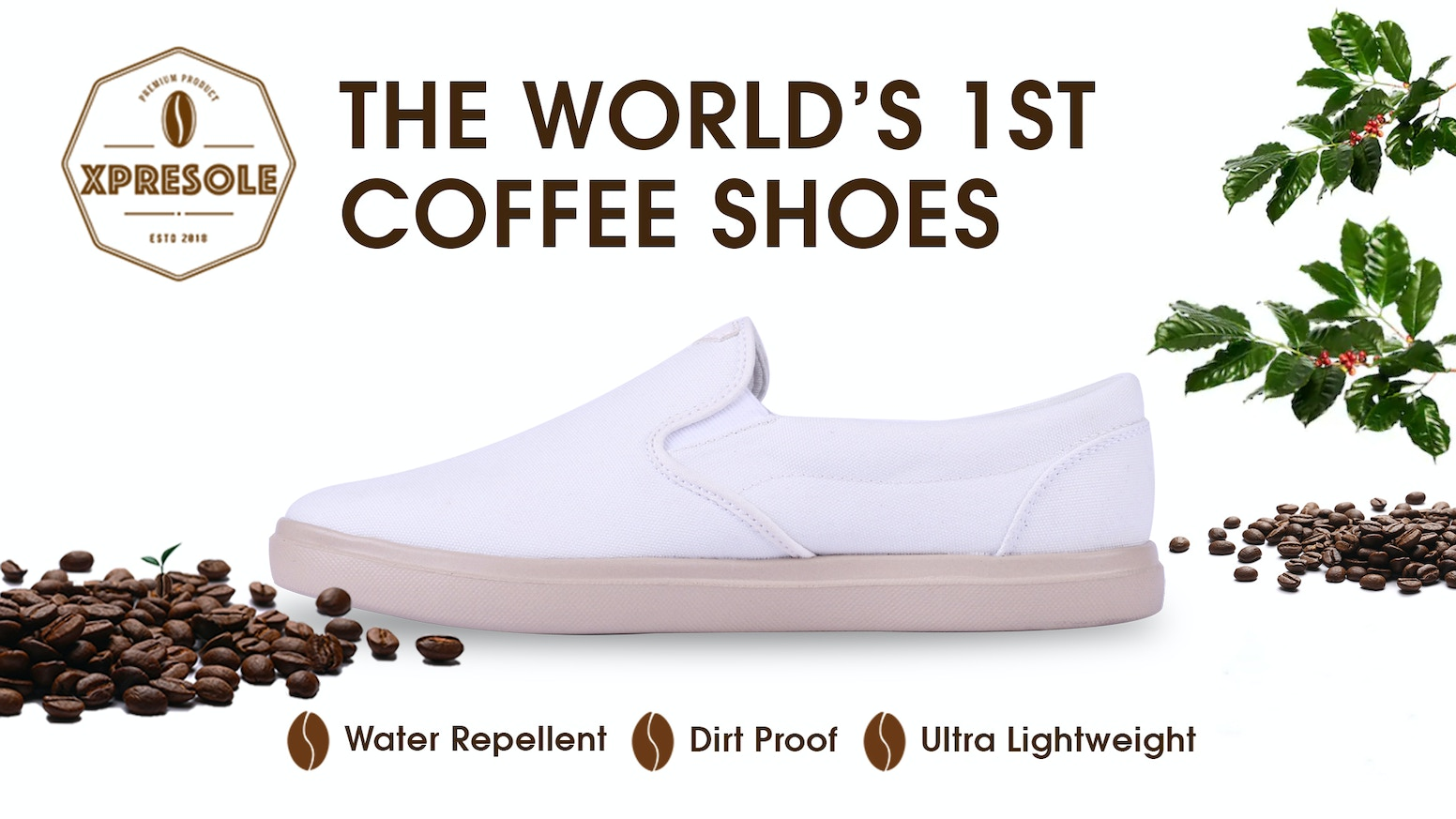 Unisex shoes for everyday use. Aromatic, Vegan, Lightweight, Dirtproof, Water Repellent, Odor Control & UV protection.