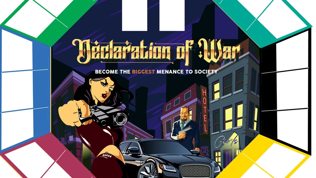 Project image for Declaration of War Board Game