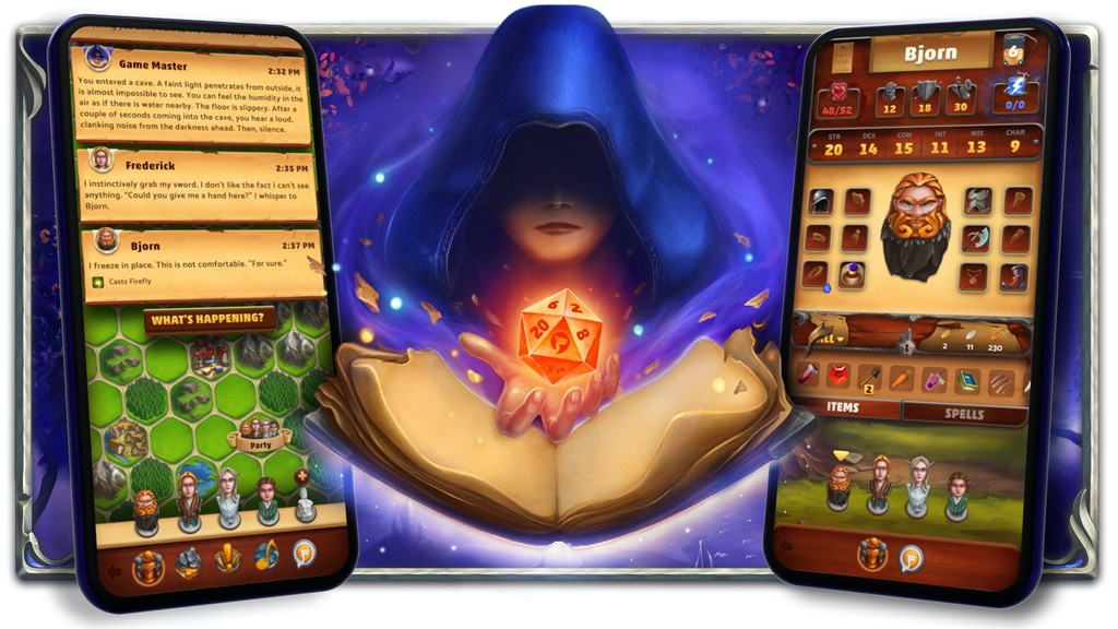 Fireball: Role-playing Simplified & in Your Phone project video thumbnail