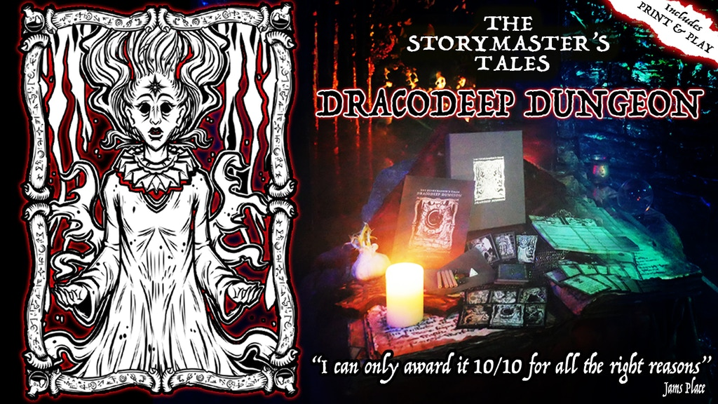 "The StoryMaster's Tales ""Dracodeep Dungeon"" Hybrid RPG project video thumbnail"