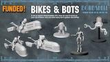 BIKES & BOTS - 3D Printable Tabletop Models thumbnail