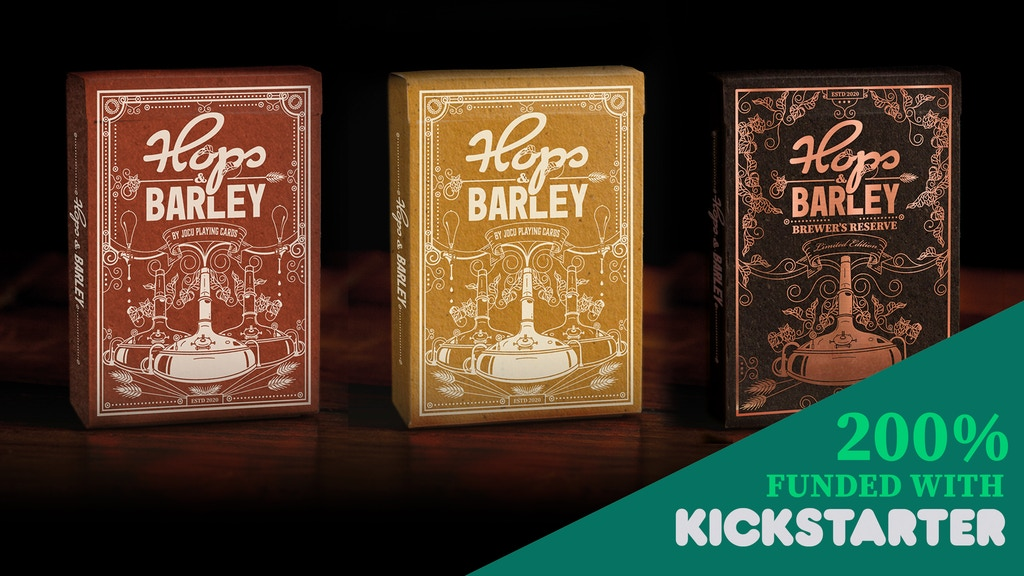 Hops & Barley by Jocu Playing Cards project video thumbnail