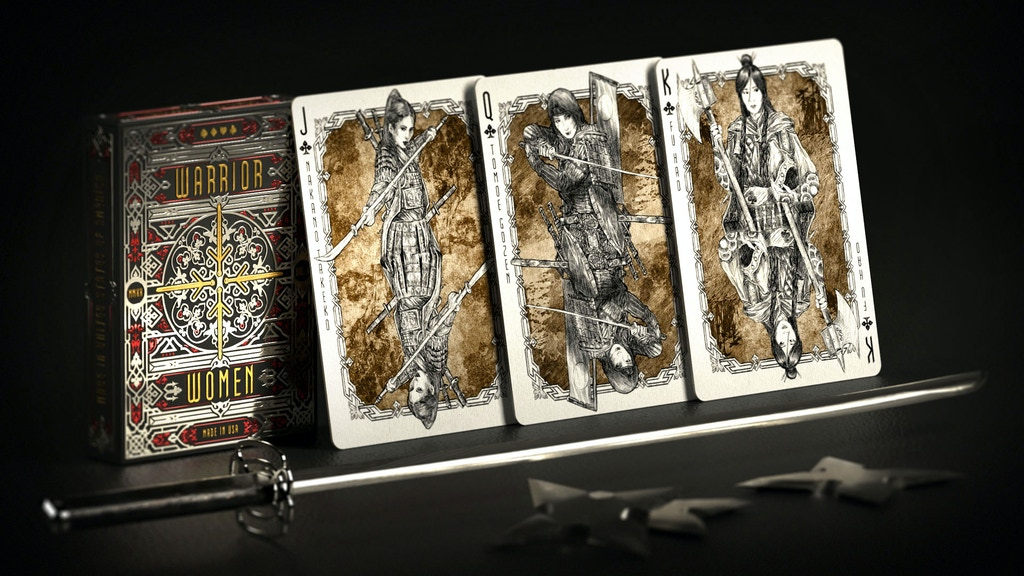 Warrior Women Playing Cards by Headless Kings project video thumbnail
