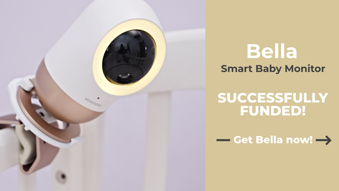 Using the latest AI Technology, Bella ensures that you are always connected with your baby and most importantly that they are kept safe