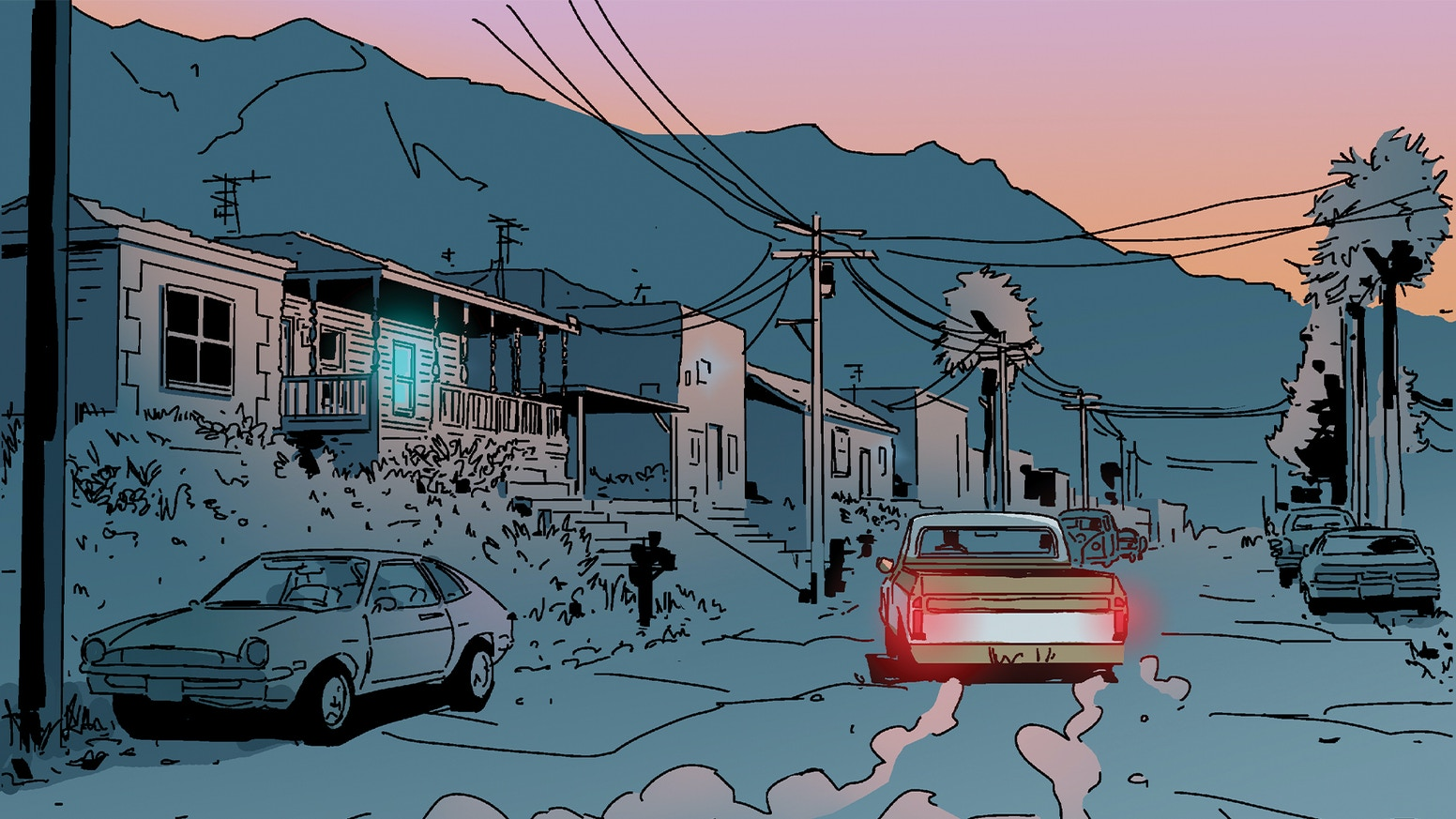 A Neo Noir Graphic Novel Set In LA's Country Music Clubs