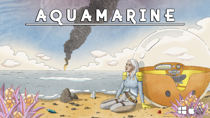 Survive the unknown, test your limits of perception, and discover an alien planet reclaimed by nature. AQUAMARINE is now in active development for Spring 2021 by Moebial Studios.