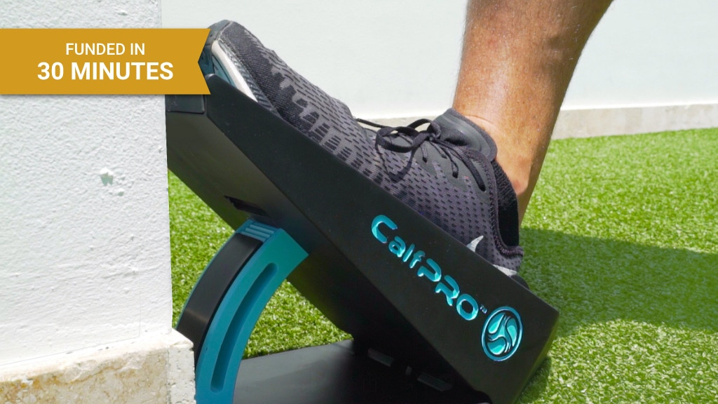 CalfPRO® — The First Leveraged Calf Stretching Tool project video thumbnail