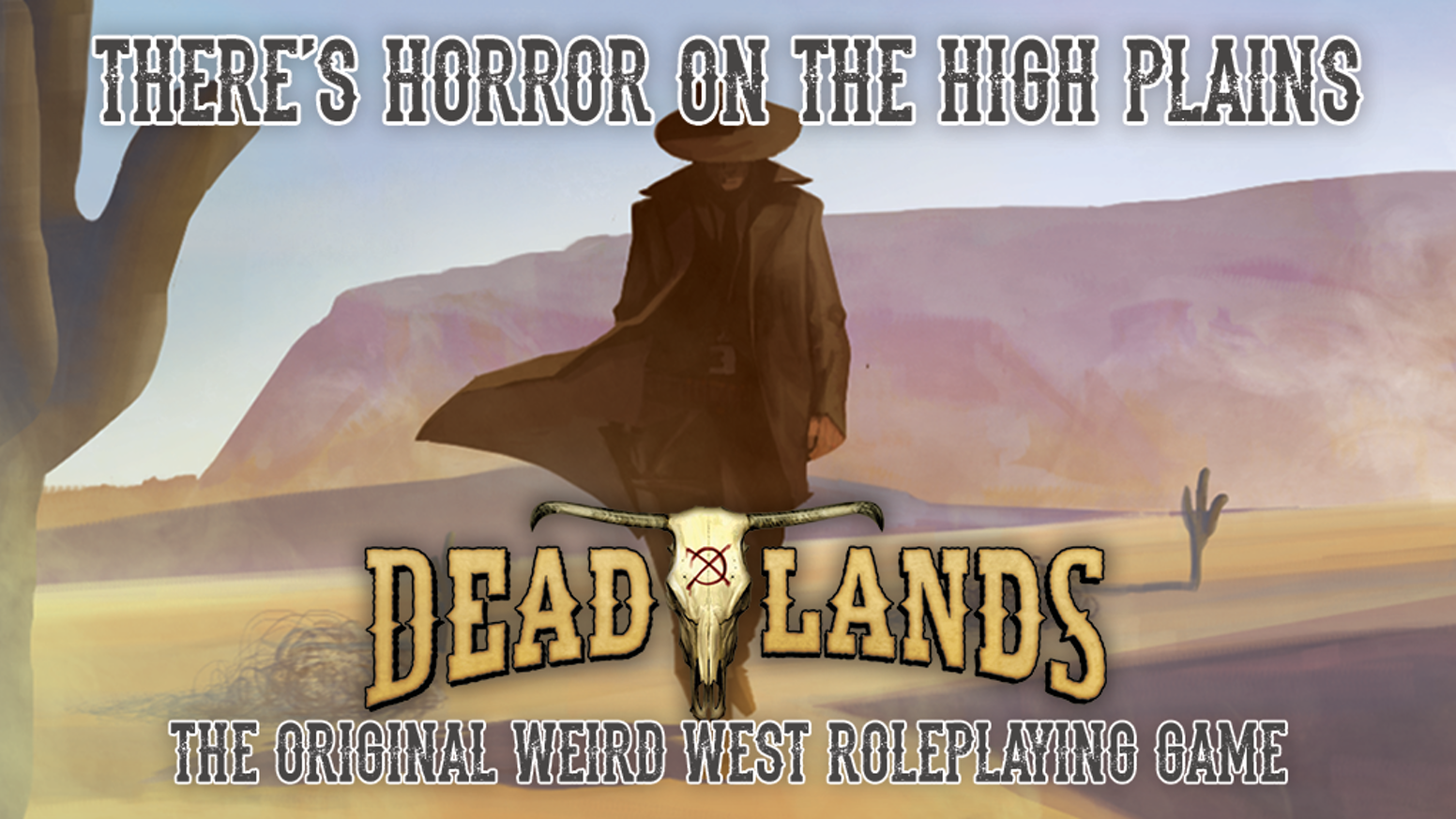 Deadlands, the original Weird West RPG! Updated for the new Savage Worlds Adventure Edition.