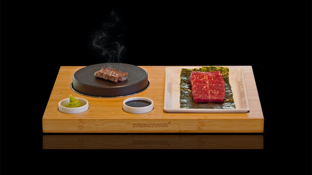 This tabletop teppanyaki kit is for everyone craving Japanese food at home!