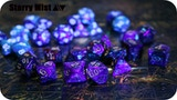 Starry Mist - the First Fluorescent Dice of Mixed Pigments thumbnail