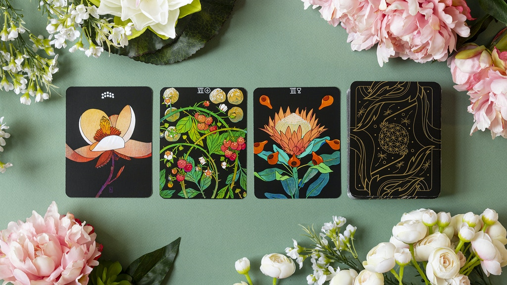 BOTANICA: A Tarot Deck about the Language of Flowers project video thumbnail
