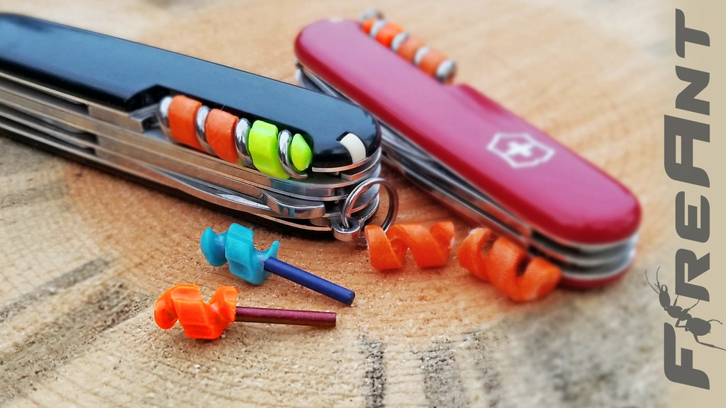 FireAnt - Accessorize your Swiss Army Knife with Fire! project video thumbnail
