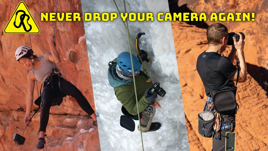Camera bag for climbers & hikers project video thumbnail