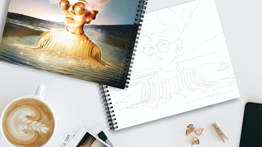 The Most Amazing Coloring Book You've Ever Seen Relaunched!