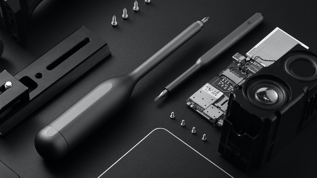 Imezing: Built-in Storage Bin Multi-function Screwdriver