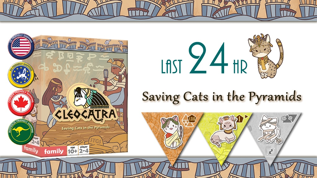 Cleocatra - Saving Cats in the Pyramids project video thumbnail