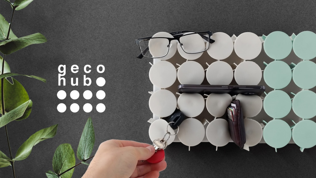 Geco Hub® | Effortless Storage for Everyday Stuff project video thumbnail