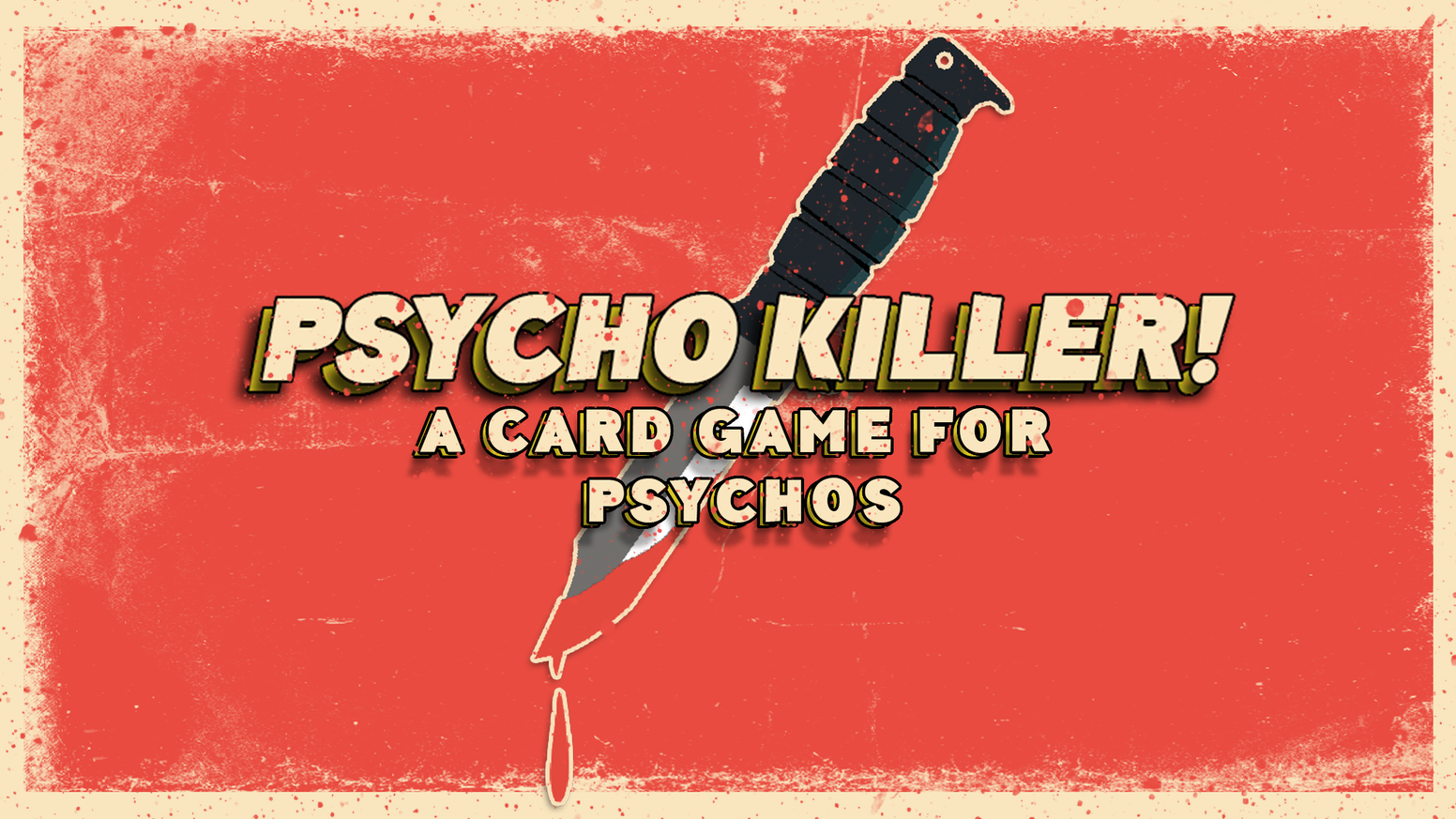 Qu'est-ce que c'est? A tabletop card game based on retro Slasher films!