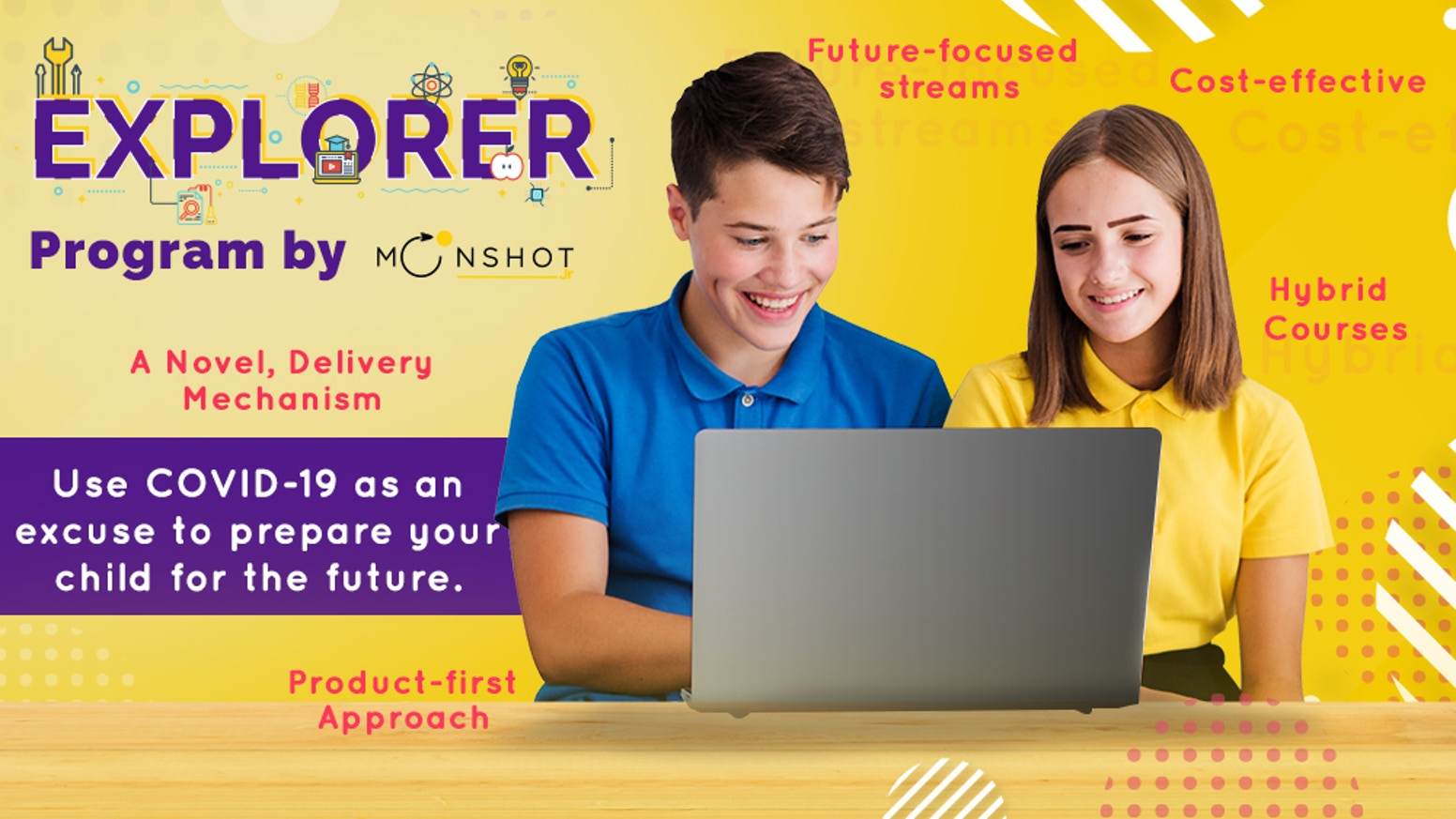 Want your child to explore their passion & get an entrepreneurial mindset? This program is for you! (e-learning, online course)