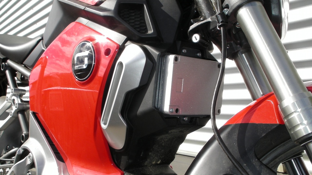 Project image for Super Soco electric motorcycle controller upgrade kit