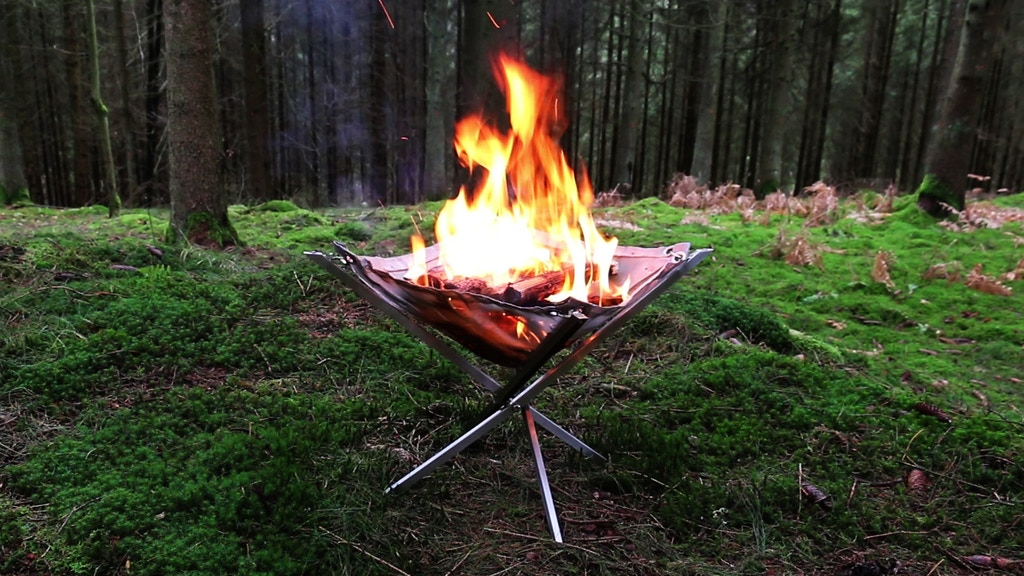 Firekorf a portable lightweight / all-in one firepit!