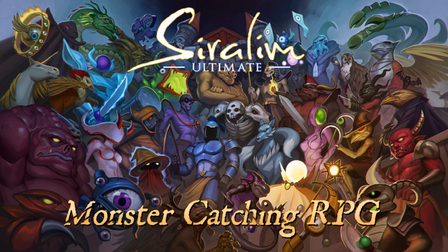 Collect 1000+ creatures and fuse them together. Offers unmatched depth of gameplay and thousands of hours (yes, really!) of content.
